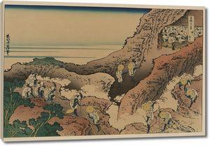 Кацусика Хокусай. Восхождение на Фудзи