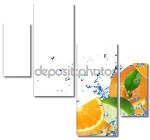 фон свежих фруктов
