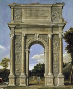 Доменикино.  Триумфальная арка