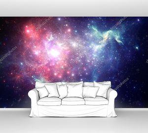 Красочная Космическая туманность