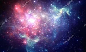 Красочные Космическая туманность