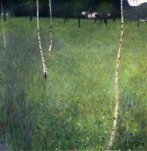 Климт Густав. Лесной домик