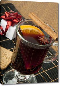 Горячий напиток с корицей