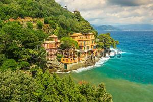 Роскошные дома вблизи Портофино, Лигурия, Италия, Европа