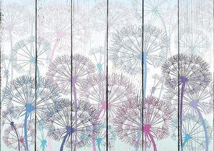 Одуванчики цветные
