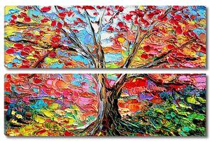 Живопись.Осеннее дерево