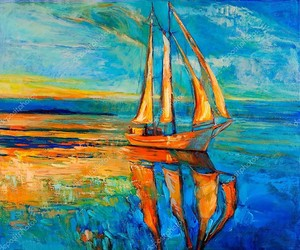 Корабль ветрила