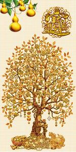 Фантастическое золотое дерево
