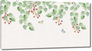 Ягоды в листве
