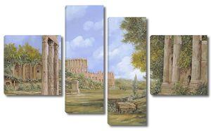 Развалины, колонны