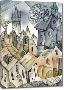 Средневековый городок