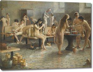 Плотников Владимир. В бане