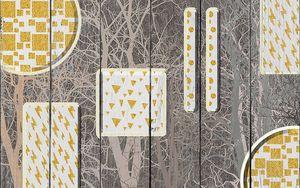 Геометрические фигуры с деревом