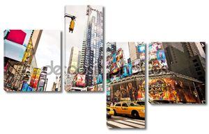 Таймс-Сквер в Манхэттене