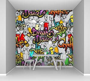 Брэйк дэнс граффити
