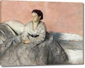 Дега - Мадам Рене де Газ
