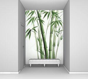 Акварельная вариация бамбука