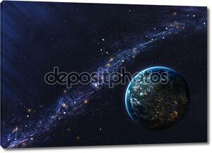 Красивый космический фон