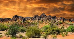 граница Нью-Мексико