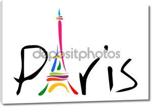 Париж тема печати