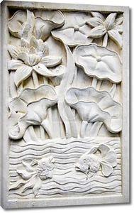 Традиционный камень, резьба в песчаника, Бали, Индонезия