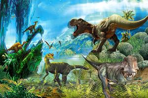 Мир страшных динозавров