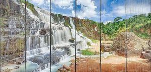 Pongour водопад