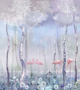 Фламинго на озерце