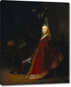 Рембрандт. Минерва