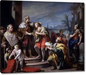 Амигони Якопо. Иосиф во дворце фараона