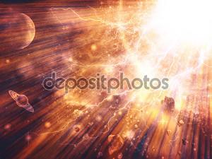 Абстрактный космический фэнтези текстуры