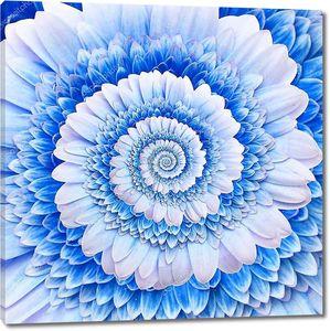 Цветочная абстрактная спираль