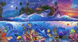 Остров с подводным миром