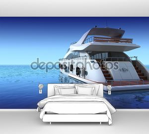 Роскошная яхта
