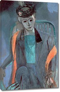 Матисс Анри. Портрет жены художника