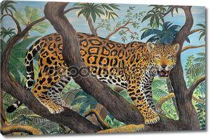 Jaguar в джунглях
