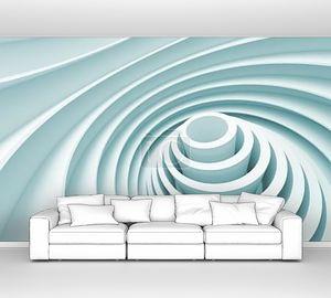 абстрактный дизайн интерьера голубой