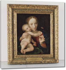 Кореджио. Мадонна и ребенок