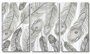 Узор из павлиньих перьев