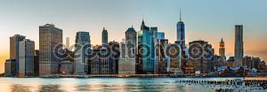 Обзор горизонта Нью-Йорка