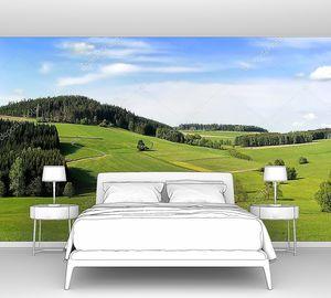 Холмы в Австрии в Альпах
