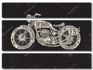 Тип заполнены старинных мотоциклов
