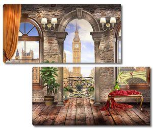 Вид из апартаментов на Биг Бен
