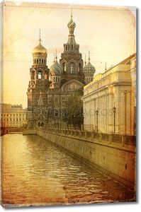 Церковь Спаса на крови, Санкт-Петербург.