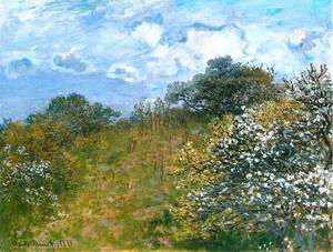 Моне Клод. Весна, 1873