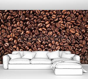Кофе в зернах фон