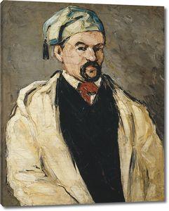 Поль Сезанн. Портрет мужчины в голубой кепке. Дядя Доминик