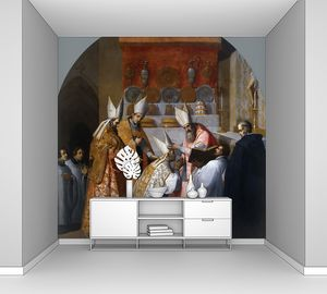 Кардучо Висенте. Папа Александр III посвящает Ансельма де Шиньена в епископы Белле