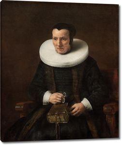 Рембрандт и мастерская. Старушка с книгой