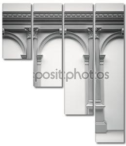 классического коринфскими портал